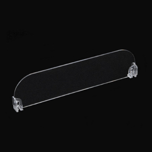 T type plastic supermarket shelf rail for display