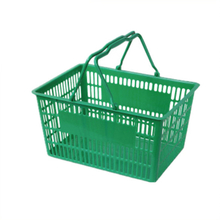 handheld small plastic shopping basket