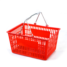 plactic shopping handbasket