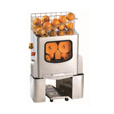 Automatic commercial orange juicer